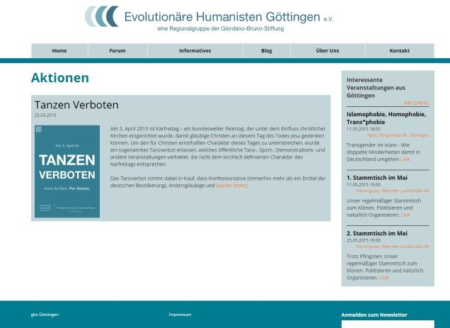 Evolutionäre Humanisten Göttingen